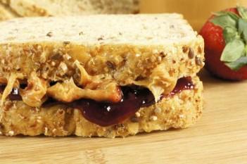 Sunbutter and Jelly Sandwich (SB&J)