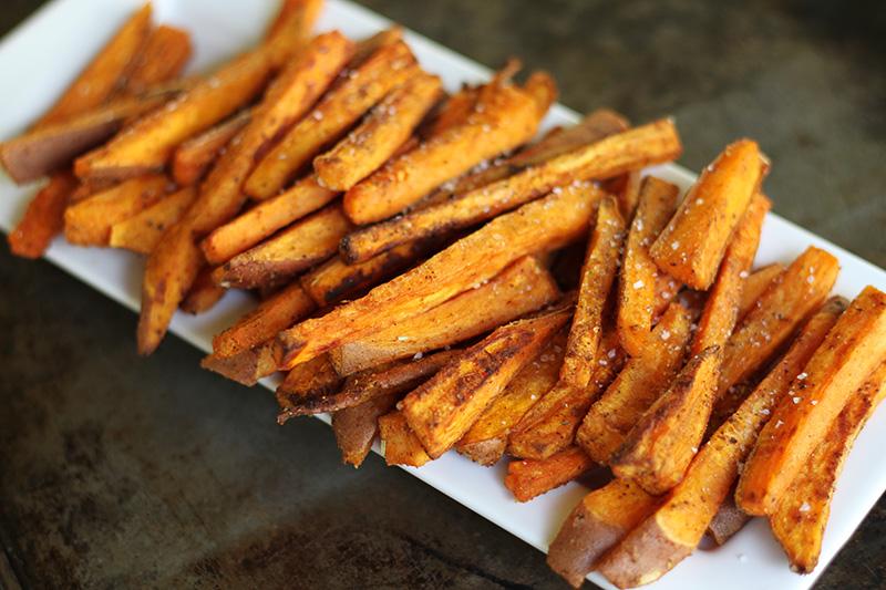 Crispy Baked Sweet Potato Fries The Real Food Academy