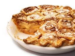 Cinnamom Bun Apple Pie