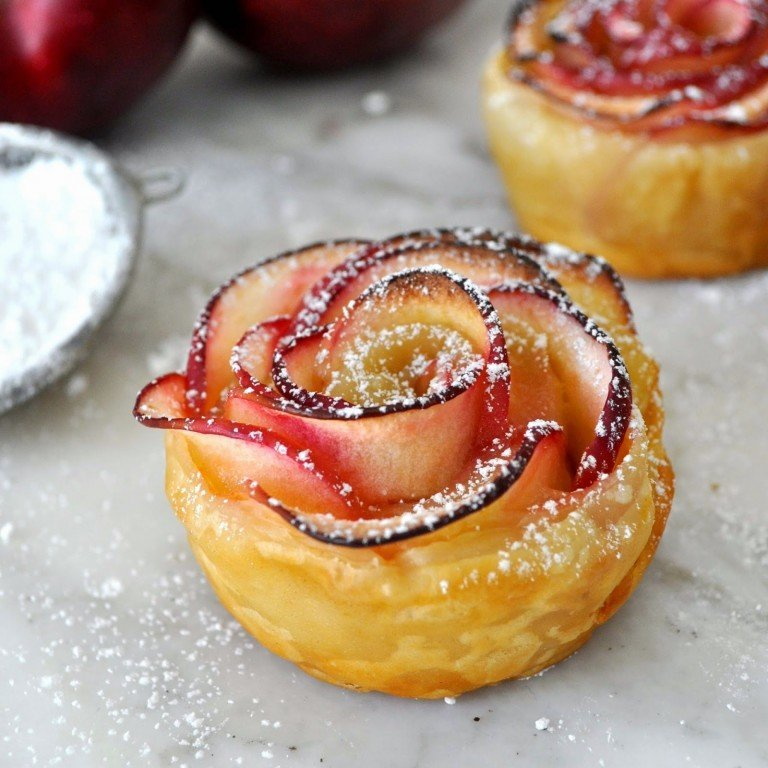 Baked Apple Rose