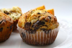 Orange-Ginger Chocolate Cupcakes
