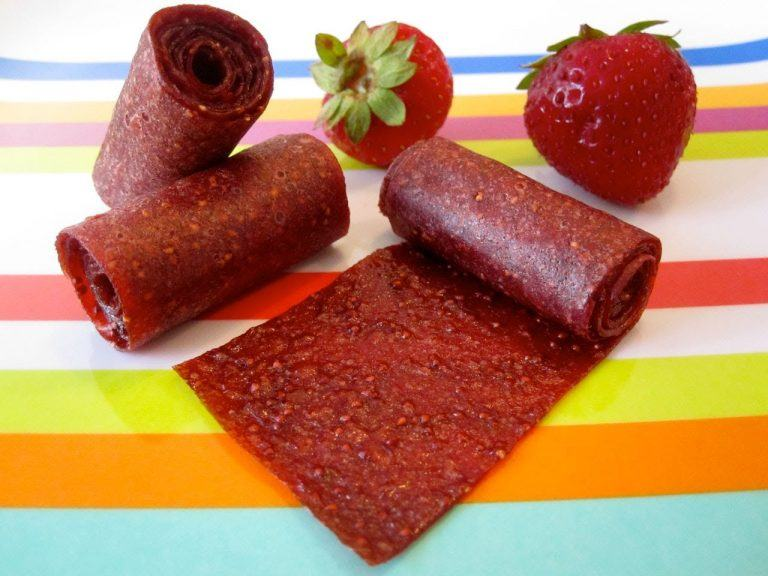 Healthy Fruit Rollups