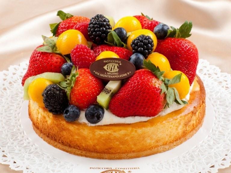 Mixed Fruit with Orange Mascarpone Cream