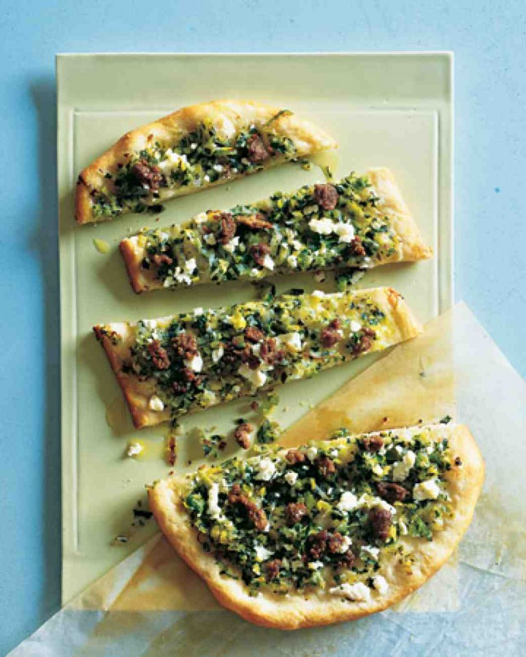 Olive Tapenade Flat Bread