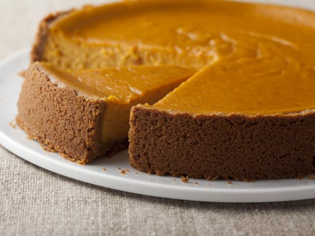 Pumpkin Pie with Chocolate Crust