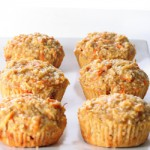 Apple Carrot Gluten Free Muffins