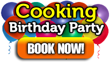 Book a Birthday Part with The Real Food Academy and Chef Maria