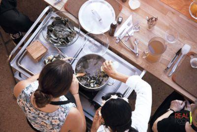 Cooking up something wonderful