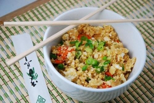 Chinese Cauliflower Fried No-Rice