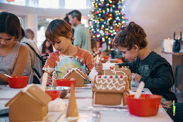 Gingerbread House Decorating Class for Kids