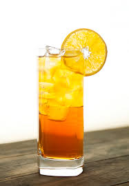 Green Tea, Orange and Honey Iced Tea