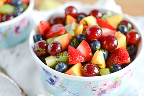 Miami Mojito Fruit Salad