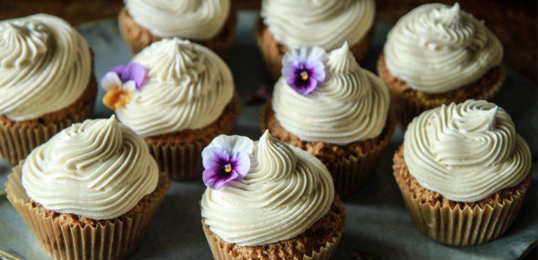 Zucchini Vanilla Cupcakes with Cream Cheese, Frosting