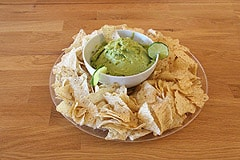 Guacamole Dip with Tortilla Chips