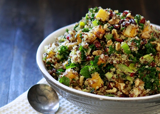 Quinoa and Winter Vegetables Stuffing