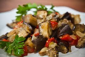 Zucchini Pasta and Eggplant Ragout