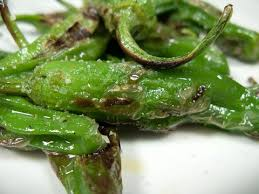 Broiled Shishito Peppers
