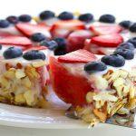 Watermelon Almond Tart